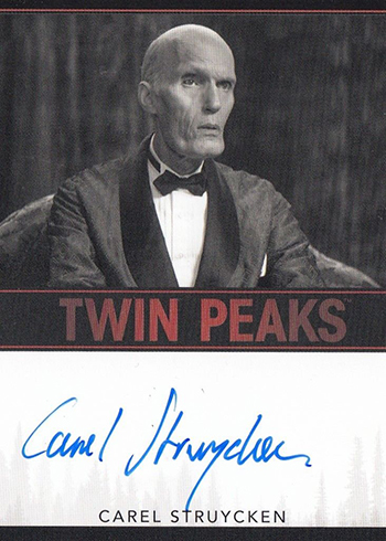 2018 Rittenhouse Twin Peaks Carel Struycken