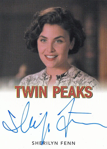 2018 Rittenhouse Twin Peaks Sherilyn Fenn Autograph