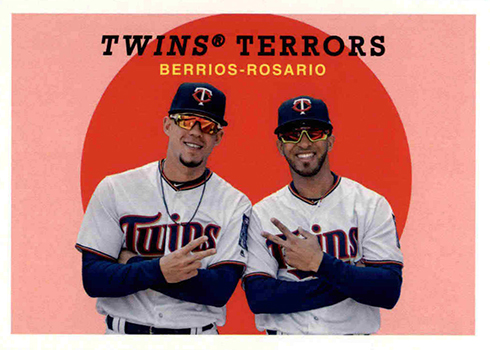2018 Topps Archives Baseball 306 Twins Combos