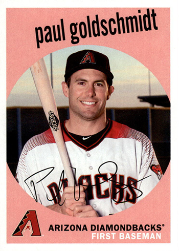 2018 Topps Archives Baseball 41 Paul Goldschmidt