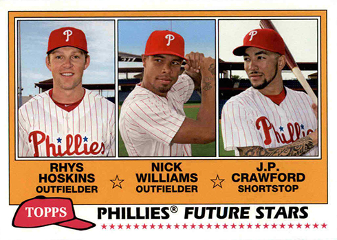 2018 Topps Archives Baseball Future Stars Phillies