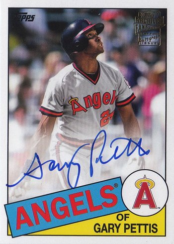 2018 Topps Archives Fan Favorites Autographs Gary Pettis