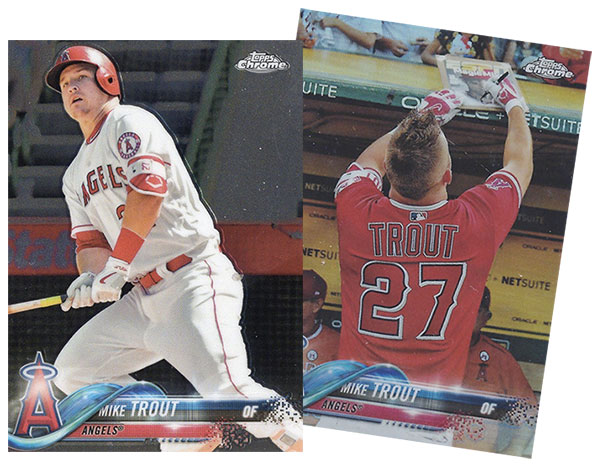 2018 Topps Chrome Baseball Variations
