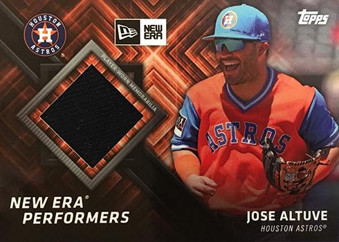 2018 Topps New Era Baseball New Era Performers Relic Jose Altuve