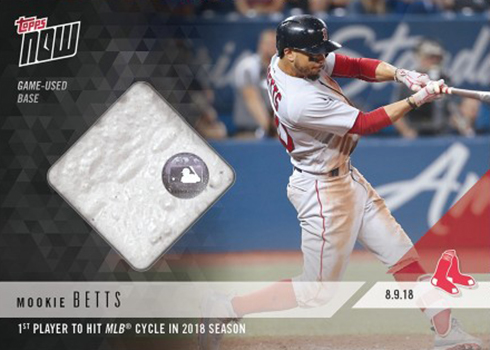 377eeb16927 2018 Topps Now Baseball Relics Checklist