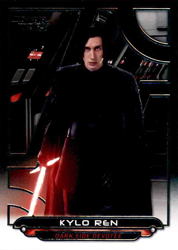 2018 Topps Star Wars Galactic Files TLJ-3 Kylo Ren