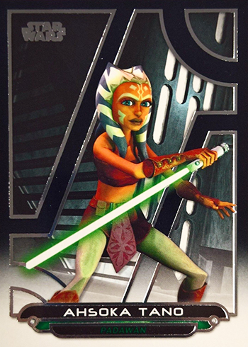 2018 Topps Star Wars Galactic Files Variations ACW-1 Ahsoka Tano