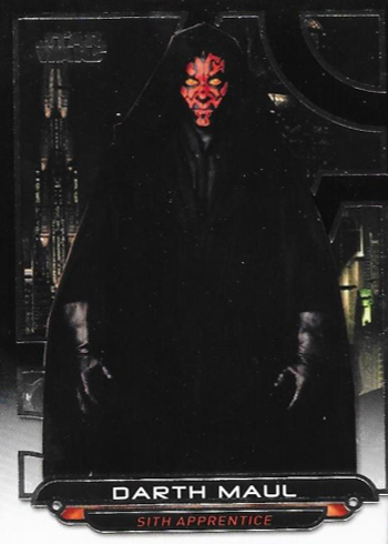 2018 Topps Star Wars Galactic Files Variations TPM-4 Darth Maul
