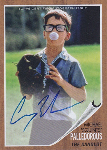 2018 Topps Archives Baseball The Sandlot SLA-MP Michael Squints Palledorous Autograph