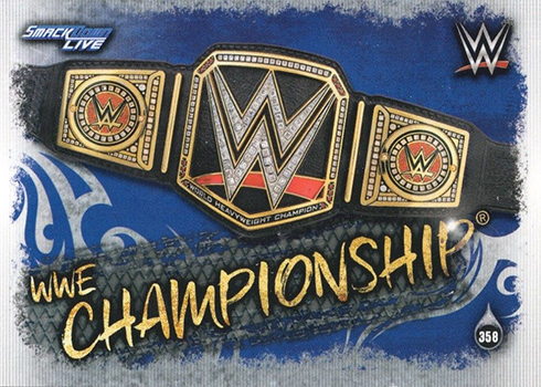 Wwe Slam Attax 10th Edition-Nº 353-Smackdown Tag Team Championship-Belt