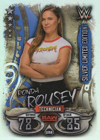 Ruby Riott Topps Slam Attax Live Karte 134 Raw