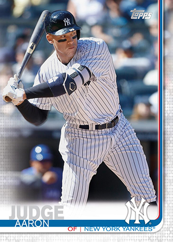 2019 Baseball Cards - Topps Series 1 Aaron Judge