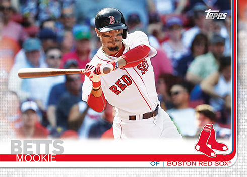 2019 Topps Baseball Mookie Betts