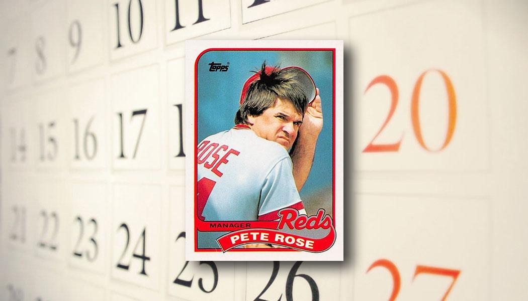 The Daily 1989 Topps Pete Rose Beckett News