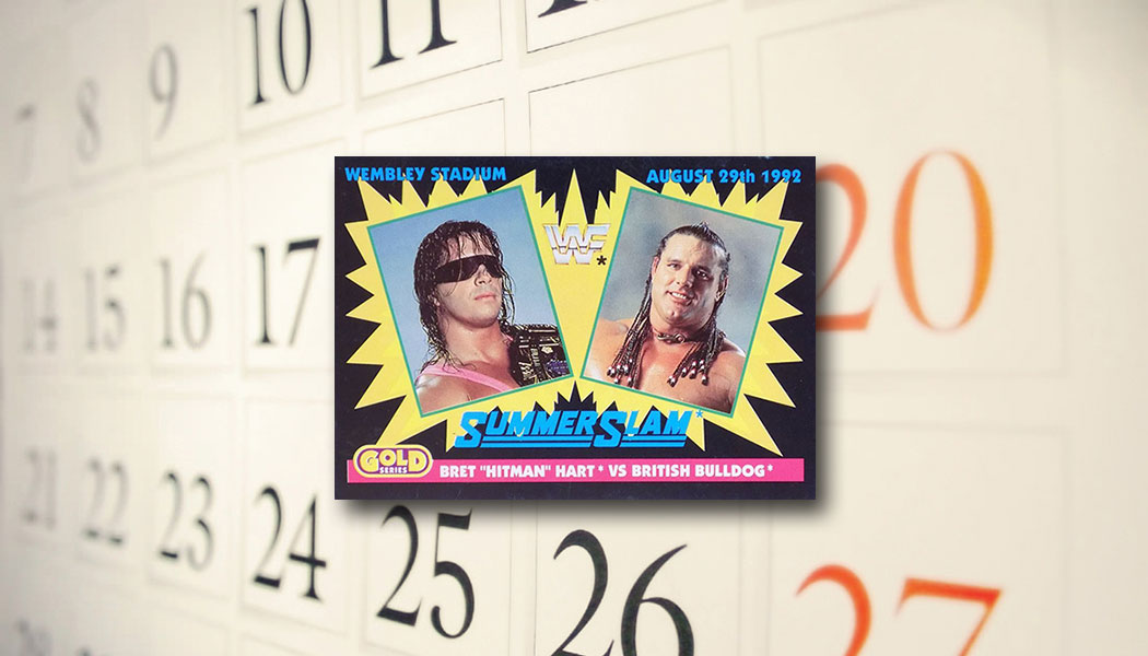The Daily: 1992 Merlin WWF Gold Series Bret \