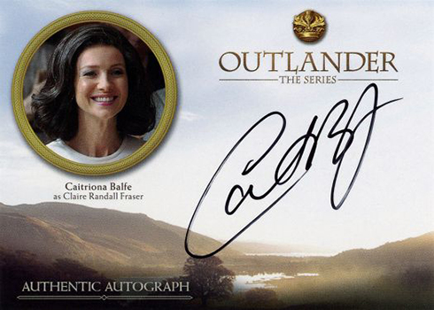 Outlander Season 3 Caitriona Balfe Autograph
