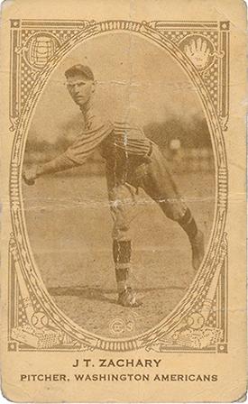 1922 E120 American Caramel TOm Zachary
