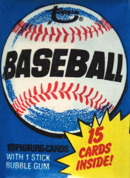 1980 Topps Baseball Pack