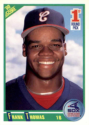 1990 Score Frank Thomas Rookie Card