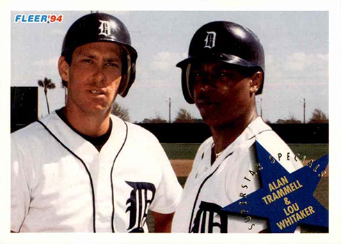 Shared Real Estate Baseball Cards With Alan Trammell And