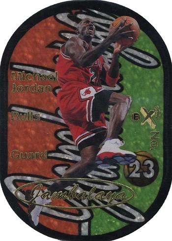 1997-98 E-X2001 Jambalaya Michael Jordan