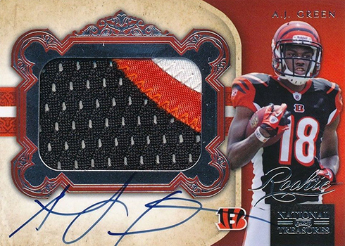 2011 National Treasures AJ Green