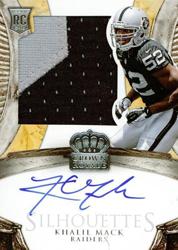 cheap for discount d26df db624 The Daily: 2014 Crown Royale Khalil Mack RC Autograph ...