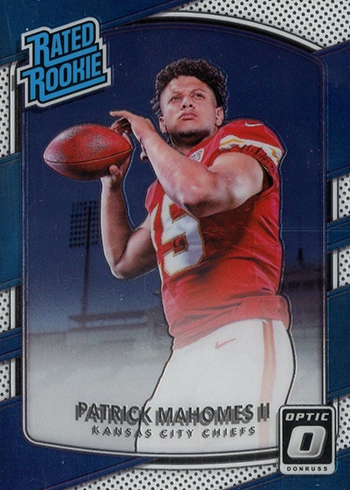 2017 Donruss Optic Patrick Mahomes RC
