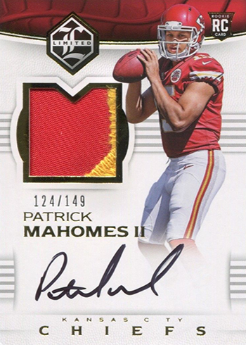 Patrick Mahomes Rookie Card Rankings  What s the Most Valuable  361413580