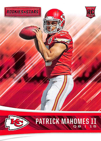 2017 Rookie and Stars Patrick Mahomes RC