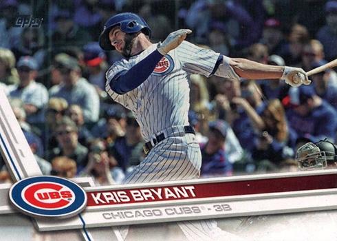 2017 Topps Kris Bryant 1