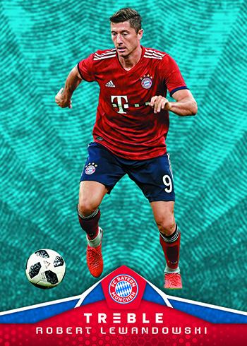 2018-19 Panini Treble Soccer Base Platinum