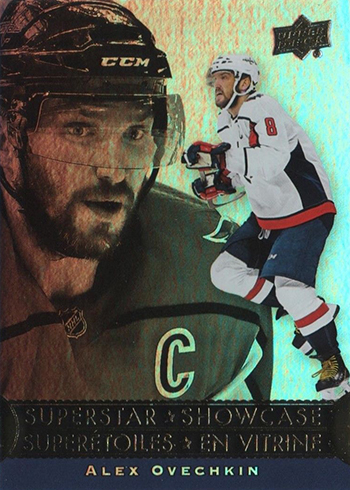 2018-19 Upper Deck Tim Hortons Hockey Superstar Showcase Alex Ovechkin