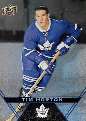 2018-19 Upper Deck Tim Hortons Hockey Tim Horton