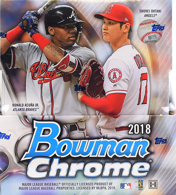 e4a794d97 2018 Bowman Chrome Baseball Checklist