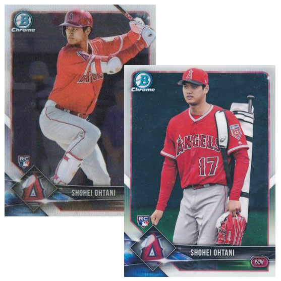 2018 Bowman Chrome Baseball Variations
