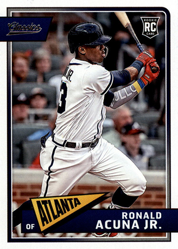 Ronald Acuna Jr Rookie Card And Prospect Card Highlights