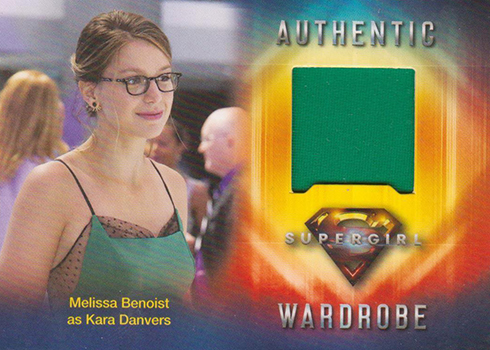 2018 Cryptozoic Suergirl Season 1 Wardrobe Cards M01 Melissa Benoist