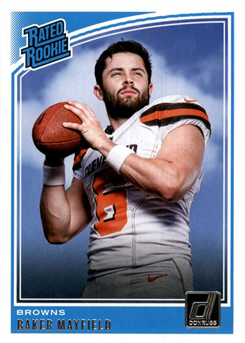 2018 Donruss Baker Mayfield RC
