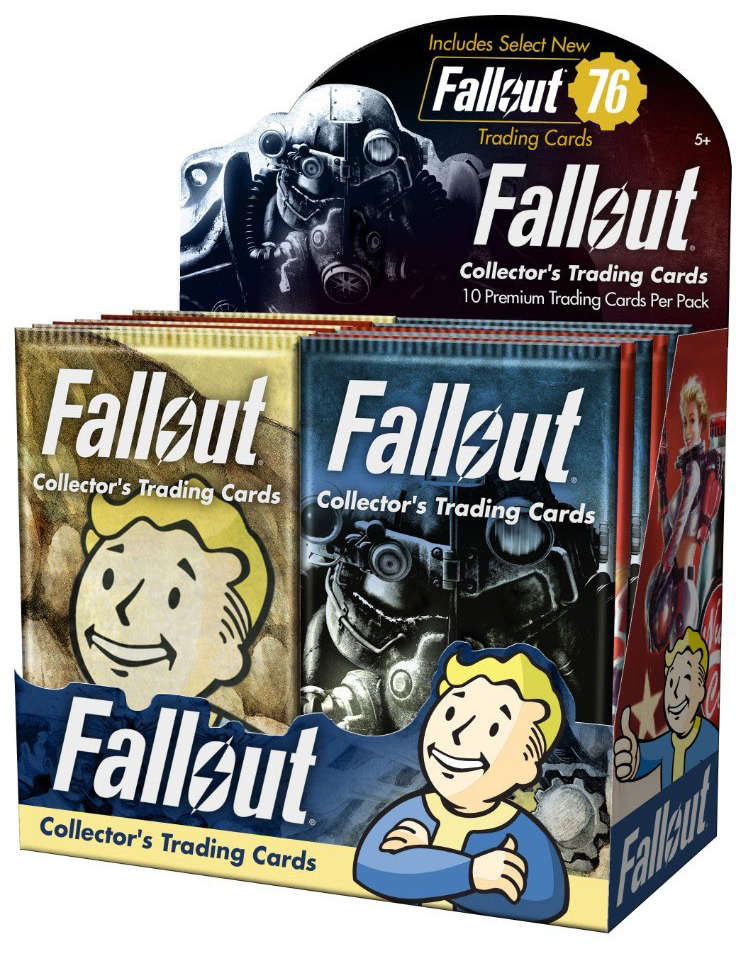 2018 Dynamite Fallout Trading Cards Box