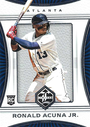 2018 Limited Ronald Acuna RC