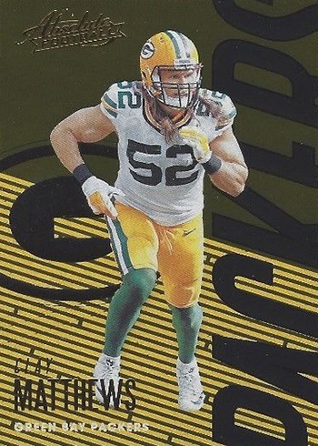 2018 Panini Absolute Football Clay Matthews