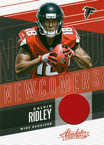 2018 Panini Absolute Football Newcomers Calvin Ridley