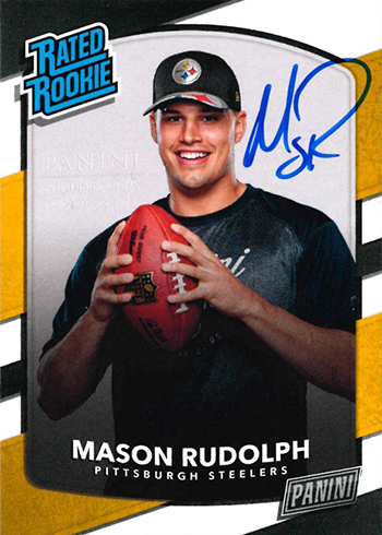 2018 Panini Day Kickoff Football Next Day Autographs Mason Rudolph
