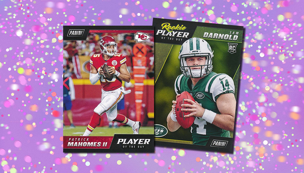 Panini NFL Player of the Day Hobby Promo Launches 19th Year. 2018 Football  Card ... 08eb43a78