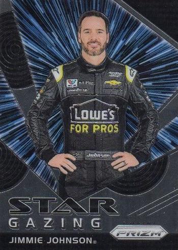 2018 Panini Prizm Racing Star Gazing Jimmie Johnson