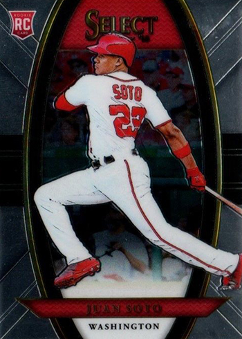 2018 Select Juan Soto Rookie Card