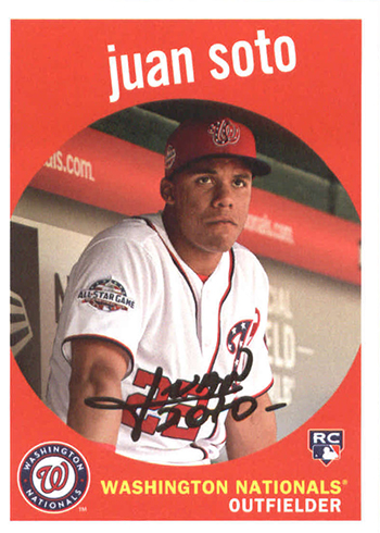 2018 Topps Archives Juan Soto RC