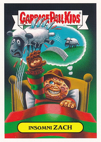 cf3f2060c11 2018 Topps Garbage Pail Kids: Oh, the Horror-ible Checklist, Release ...