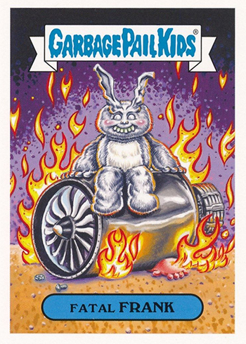 2018 Topps Garbage Pail Kids Oh the Horror-ible Modern Sci-Fi Fatal Frank